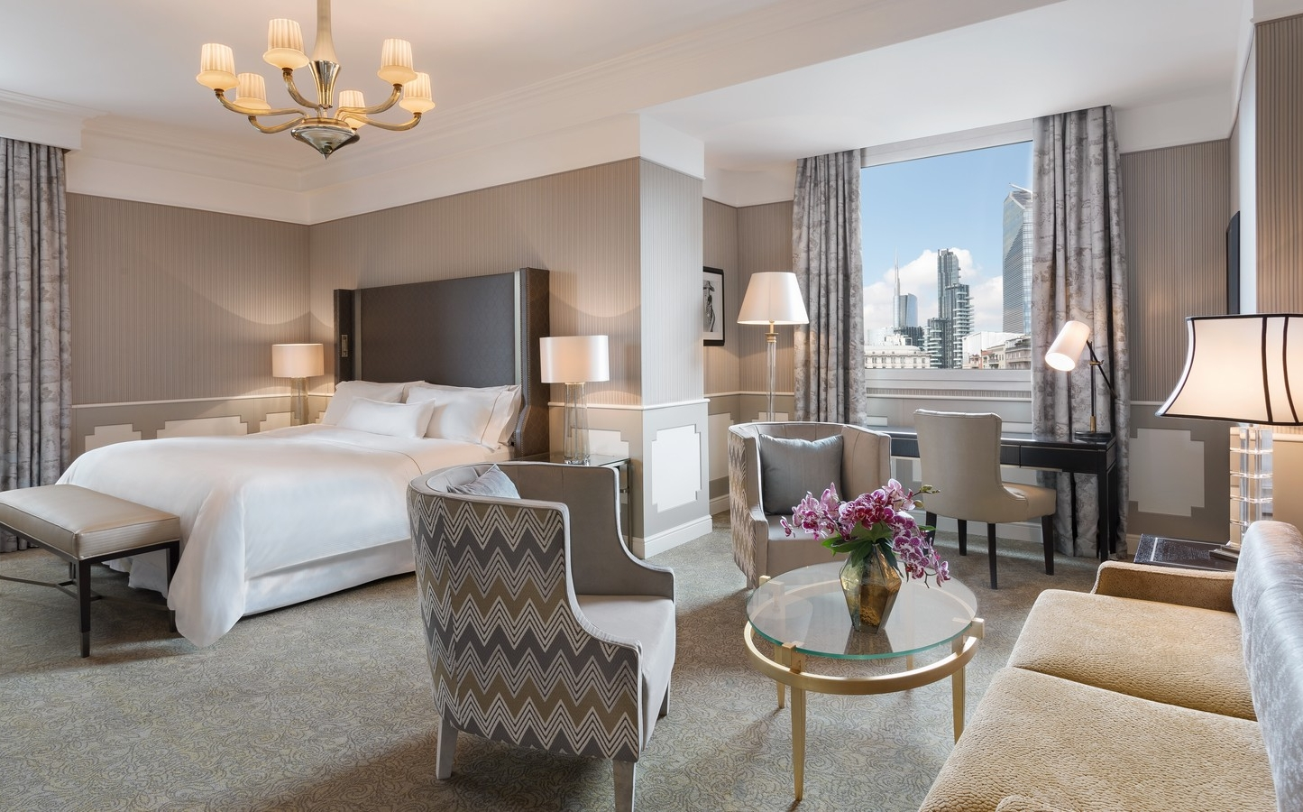 Grand Deluxe Contemporary Room | The Westin Palace Milan | Rooms ...